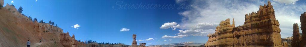 panoramica cañon de bryce