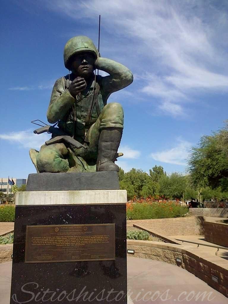 Monumento a los soldados Navajo