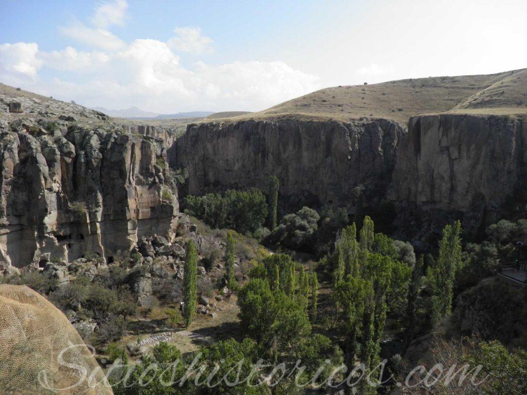 Valle de Ihlara (Anatolia central Turquía)