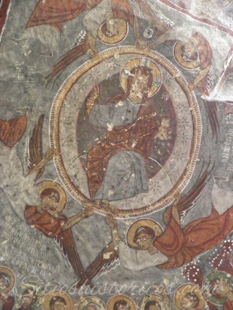 Pantocrátor presidiendo la iglesia de San Jorge Ihlara