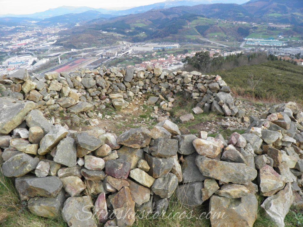 Amontonamiento de piedras en Malmasín.