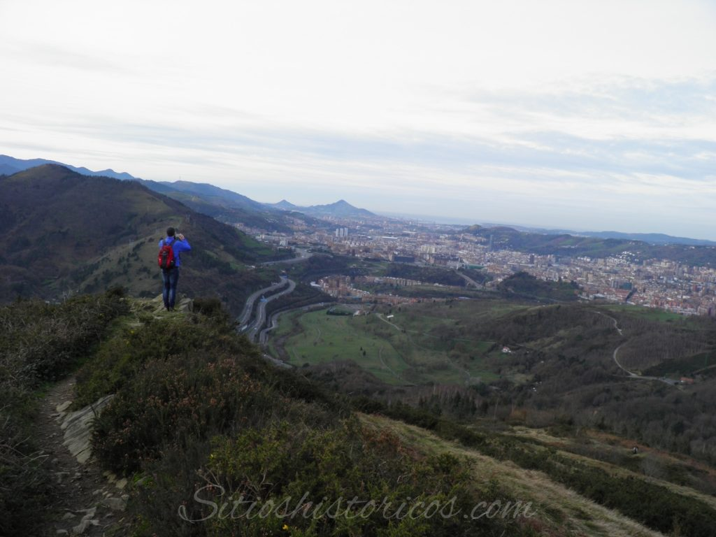 El gran Bilbao desde Malmasín.