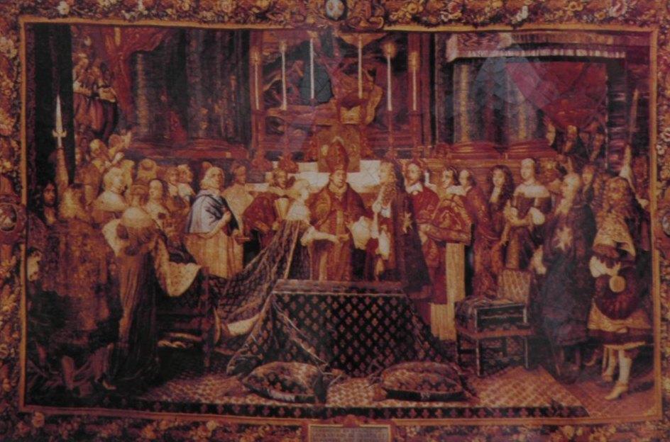 Enlace Luis XIV Maria Teresa de Austria