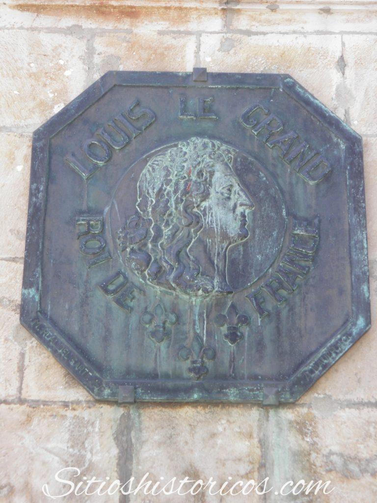 Placa Louis XIV
