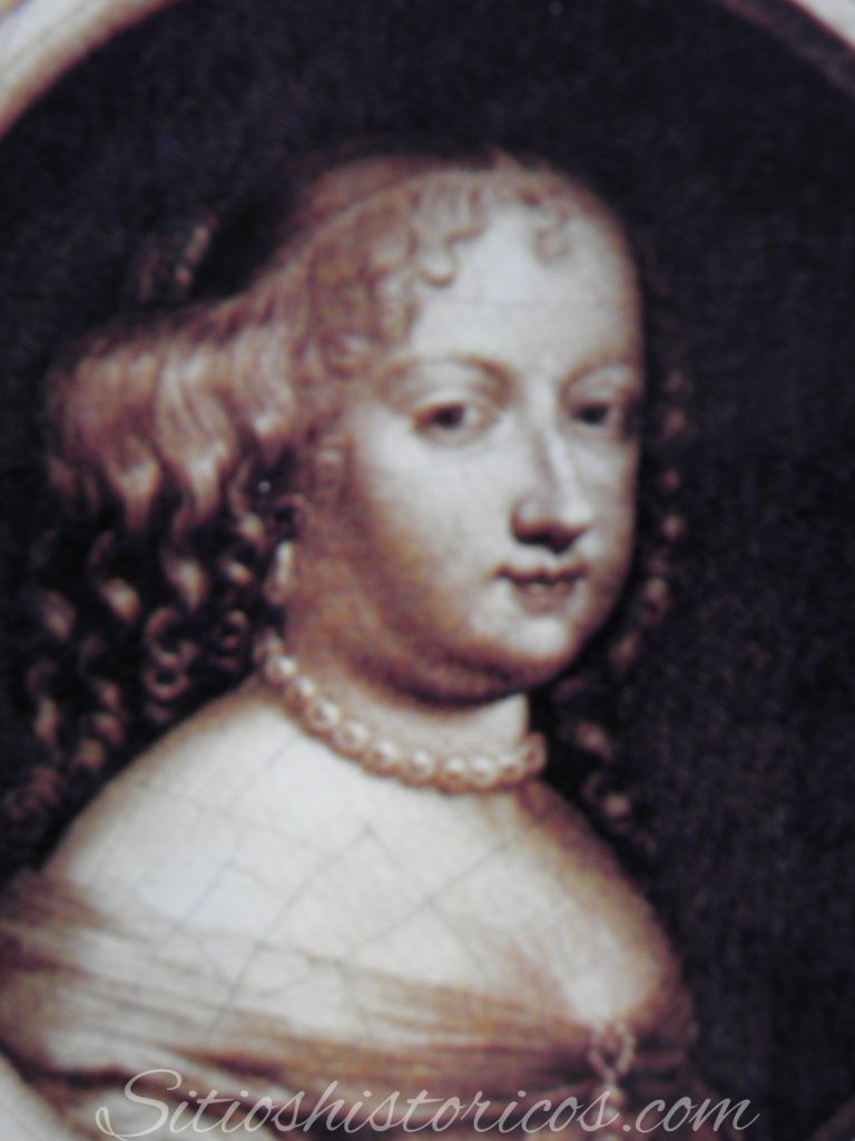 La infanta María Teresa de Austria.