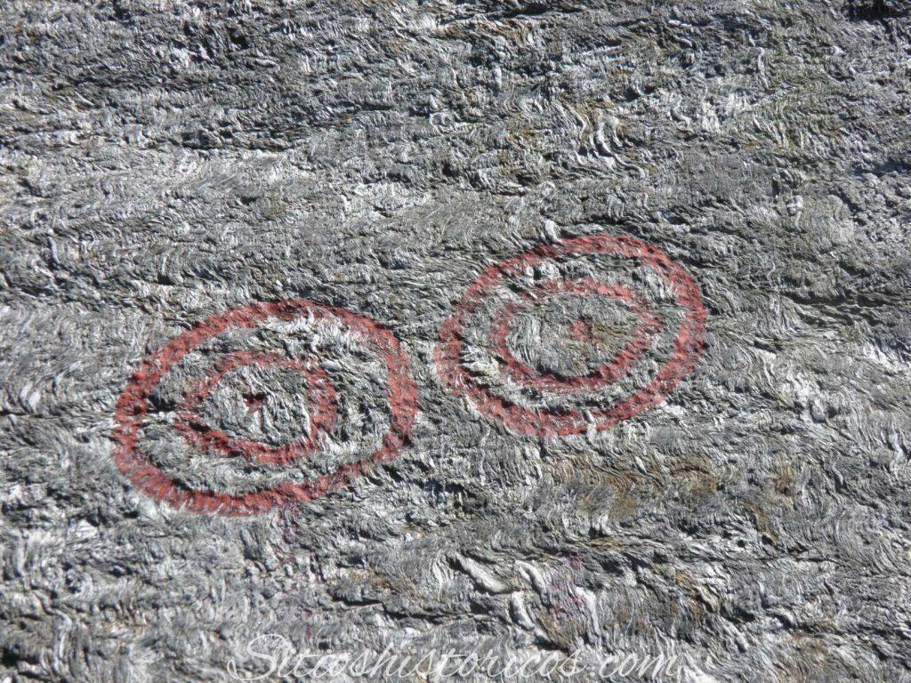 Petroglifos circulos solares