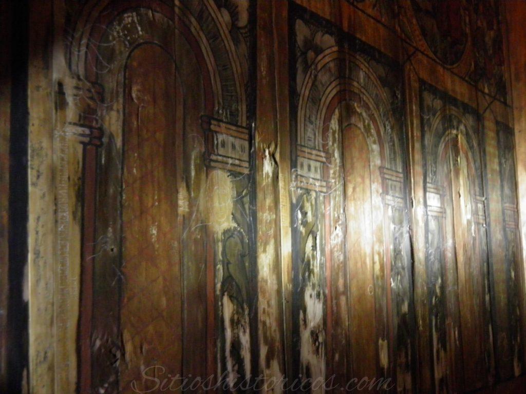 Grafitti medieval stavekirke