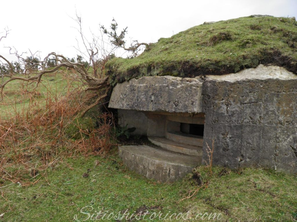 Sitios históricos bunker