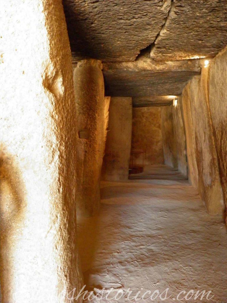 Sitio histórico andalucía dolmen de Menga