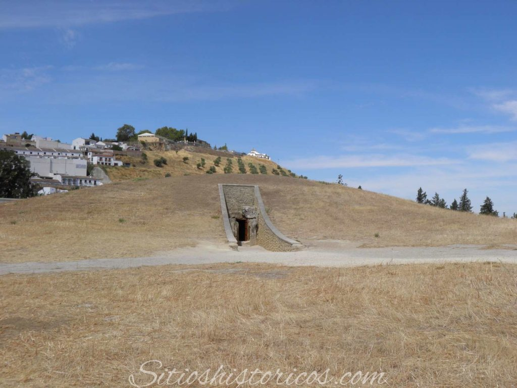 Sitios histórico Málaga dólmenes de Anquequera