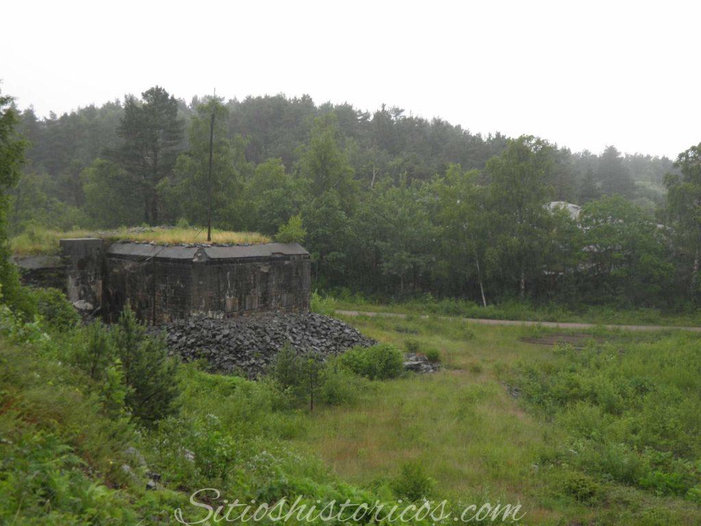 Bunker cañones nazis