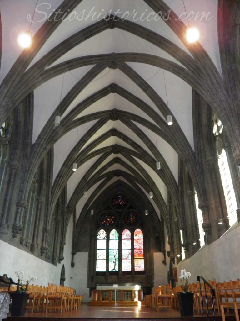 Interior view of the cathedral.