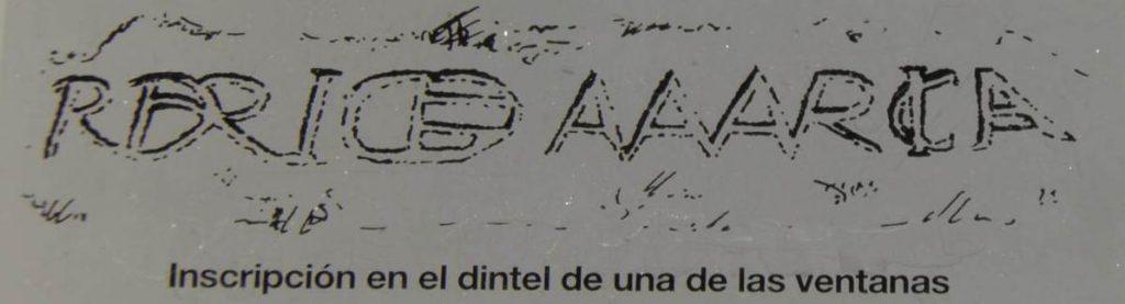 Inscripción Mur Graus