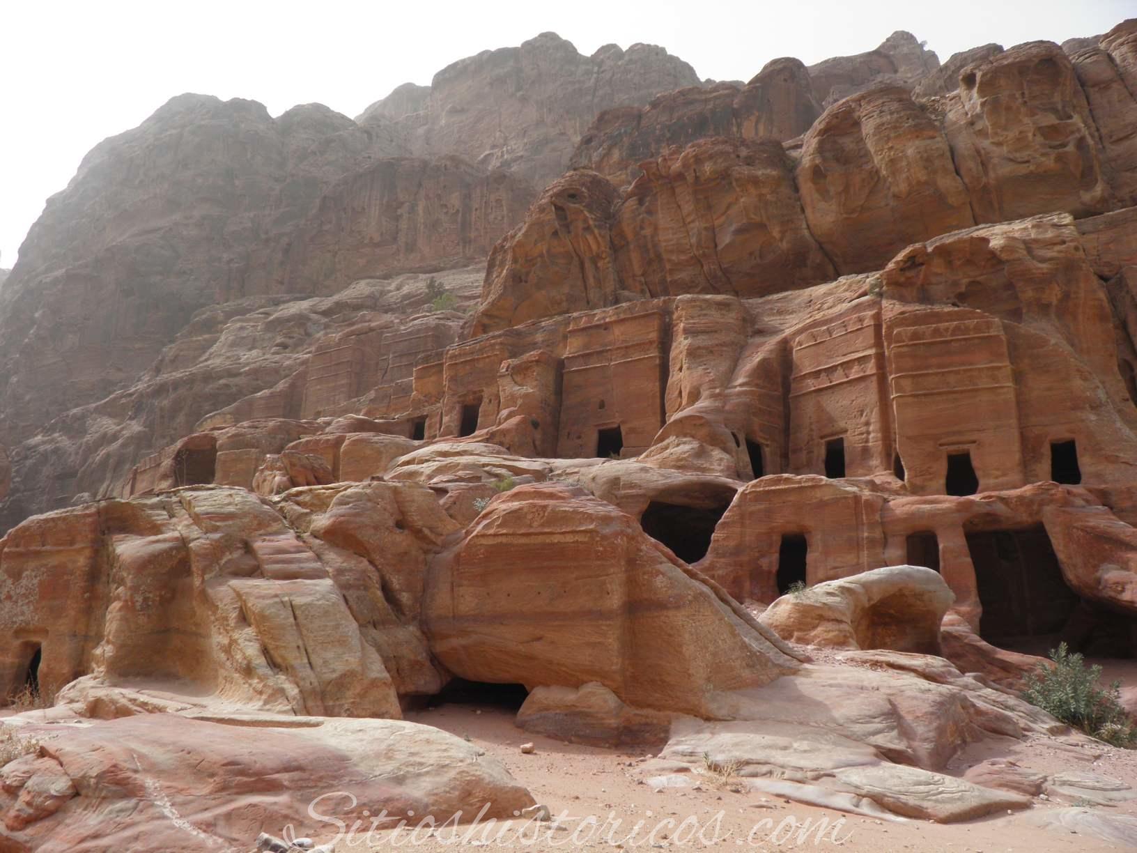 Merlones escalonados Petra