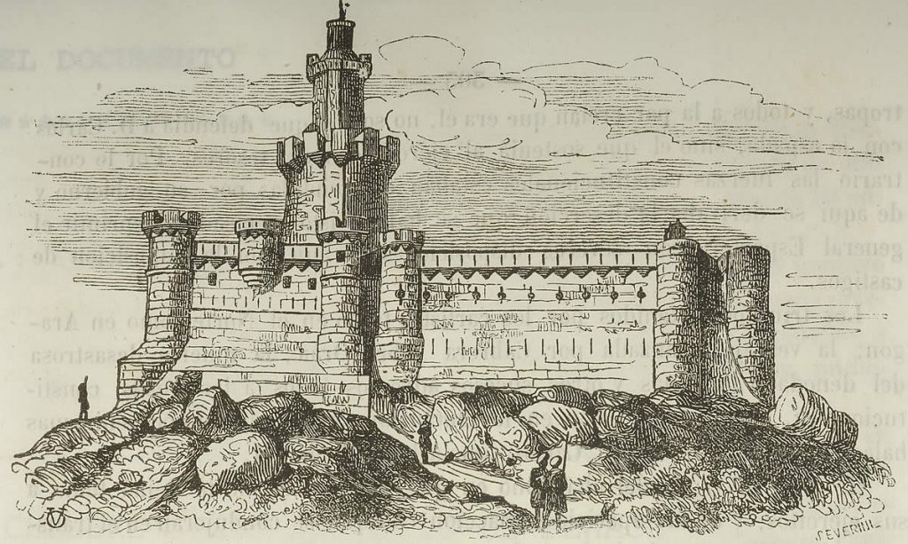 Grabado castillo