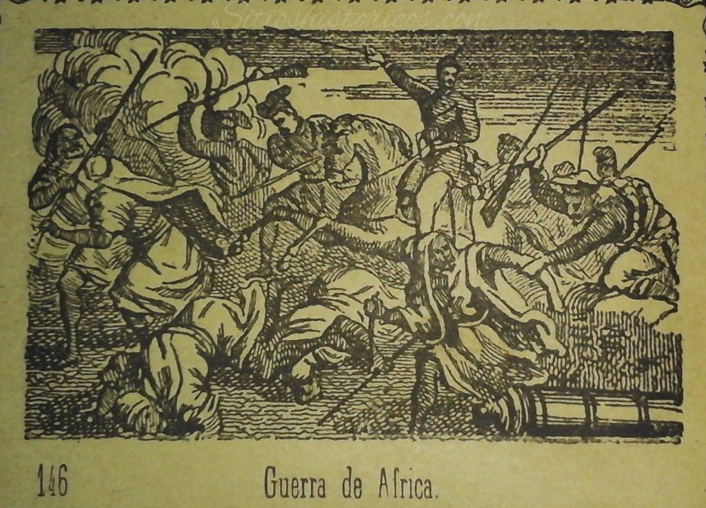 Ilustración guerra áfrica