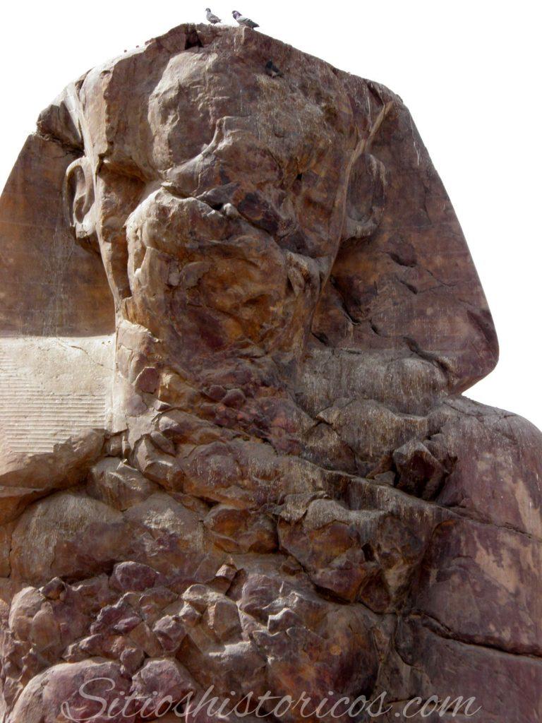 Coloso Memnón Egipto