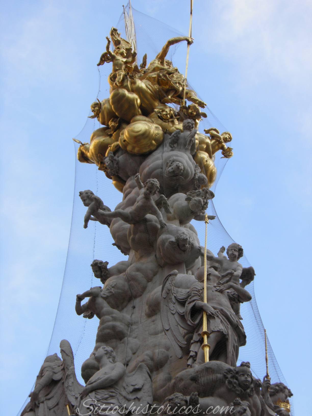 Columna peste