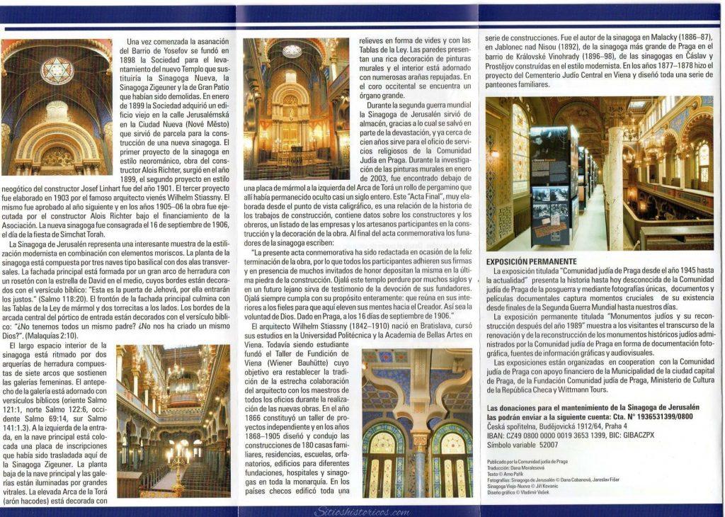 Sinagogas Praga