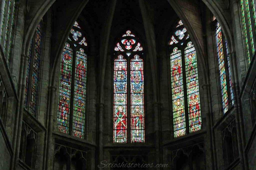 Vidrieras catedral Burdeos