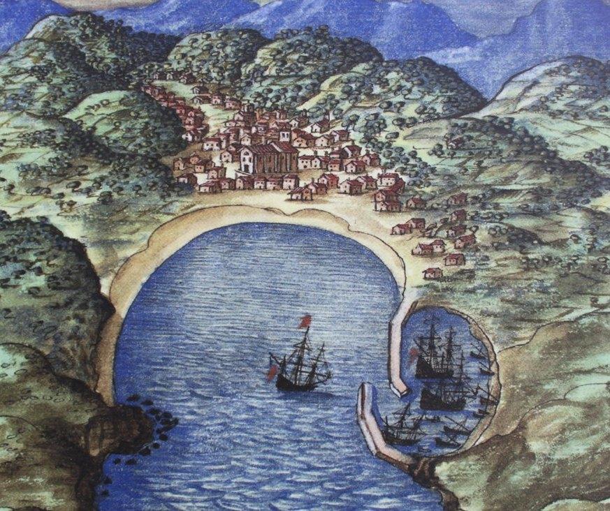 Mapa antiguo Mutriku