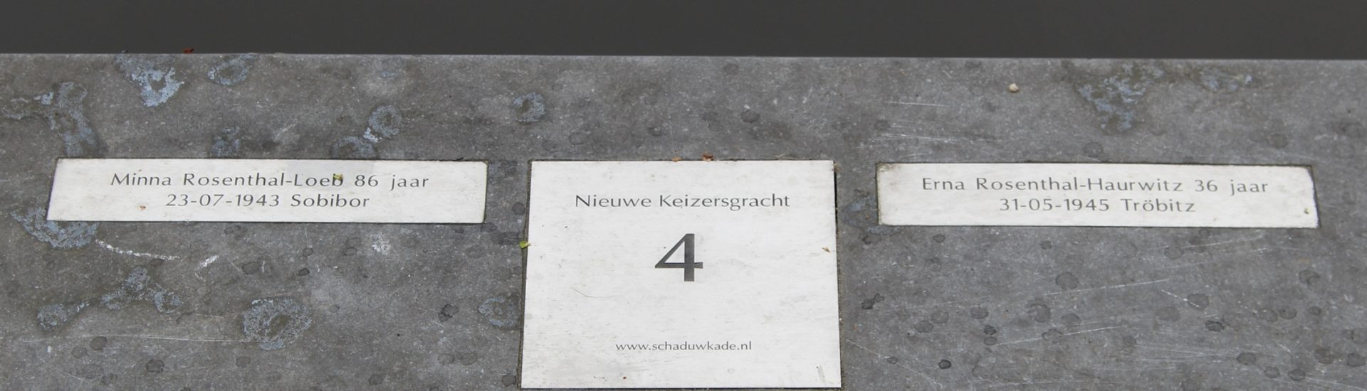 Monumento holocausto ámsterdam