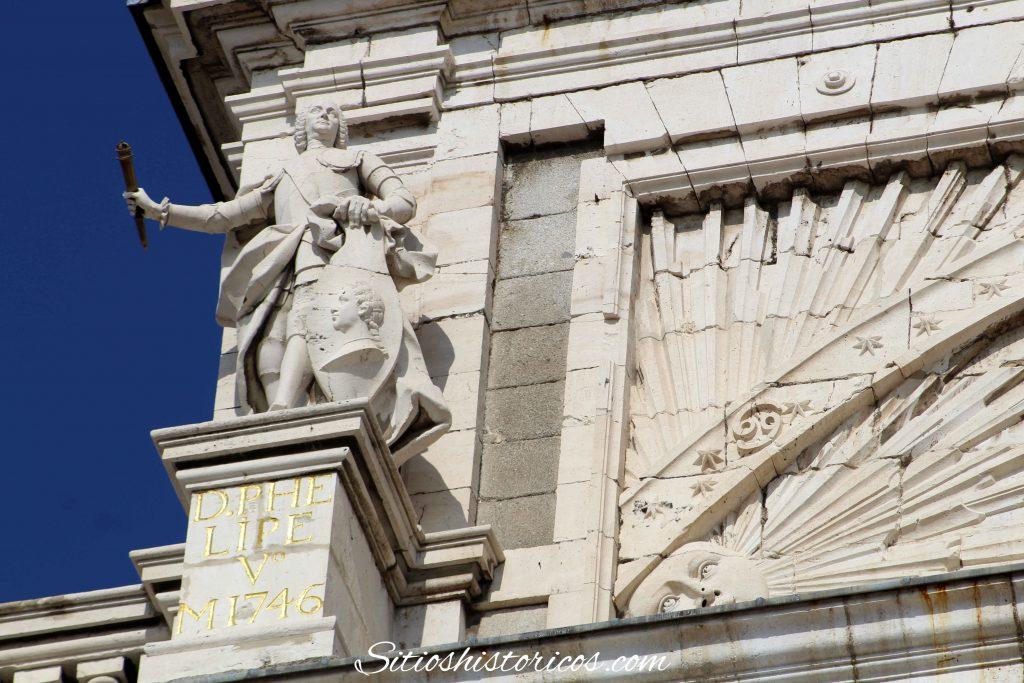 Estatua Felipe V Palacio Real