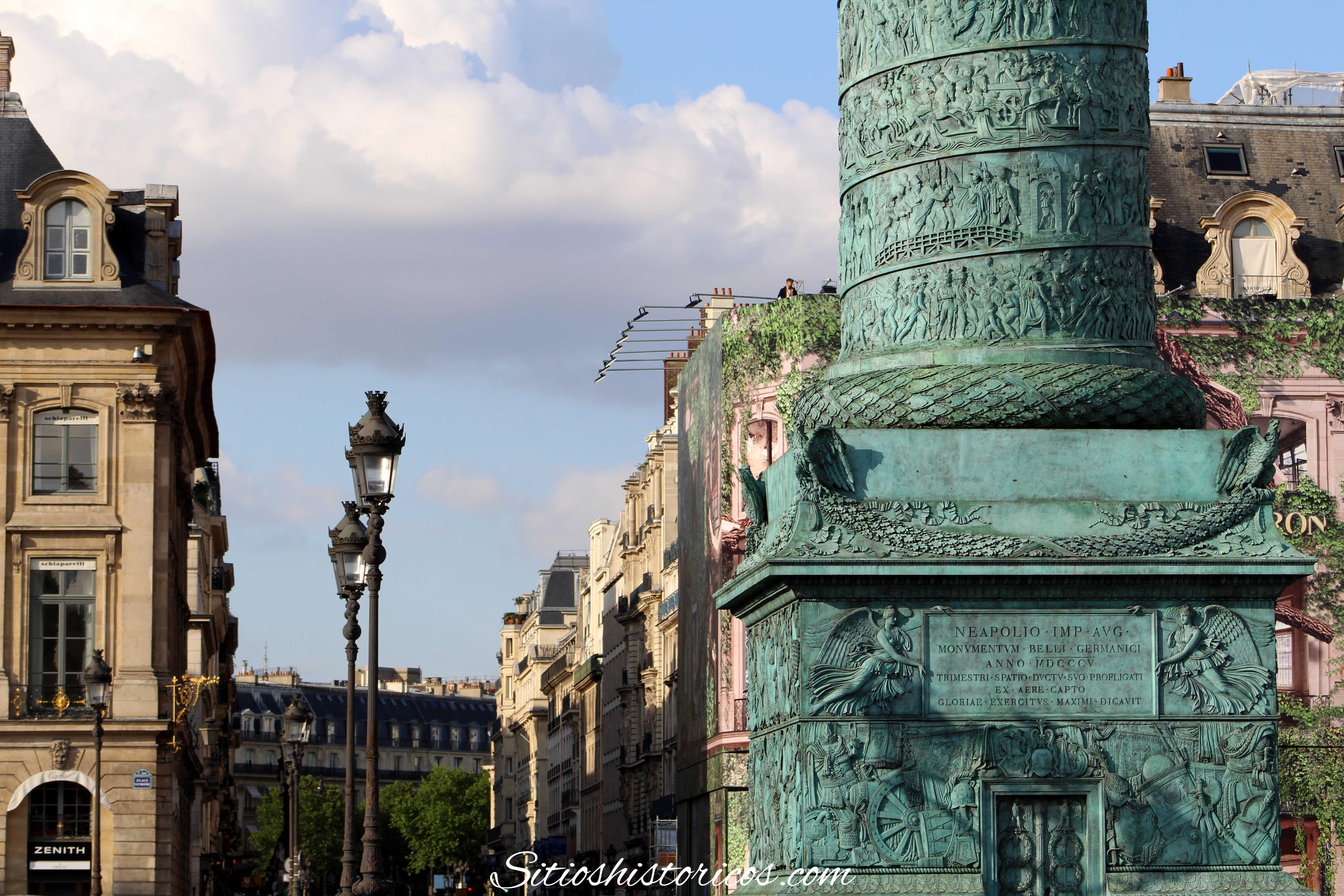 Lugares históricos Paris