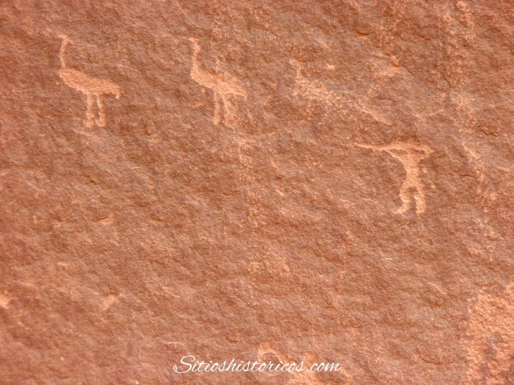 Petroglifos Uadi Rum