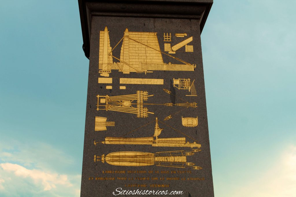 Obelisco de la plaza de la Concordia