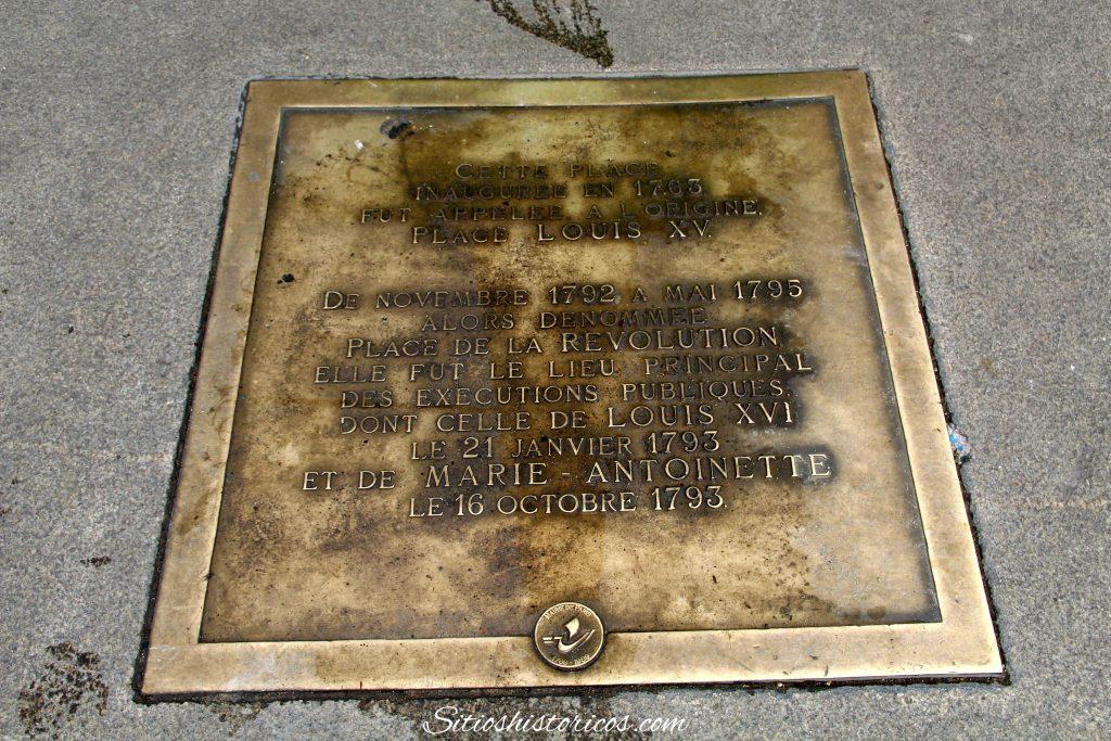 Donde estaban las guillotinas en París