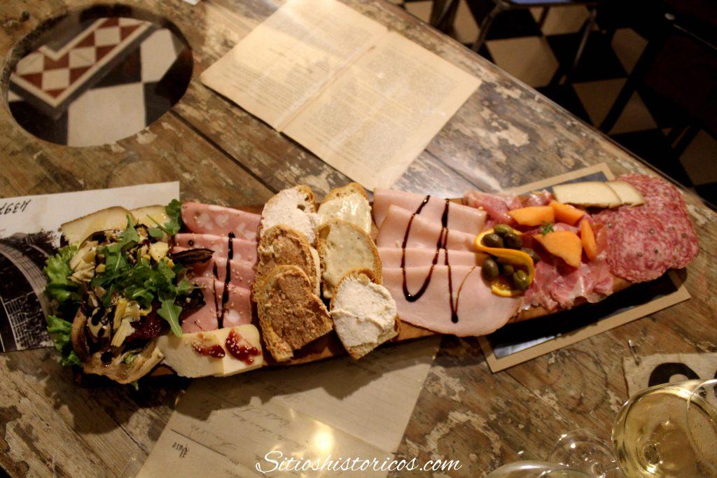 Comer en Milán