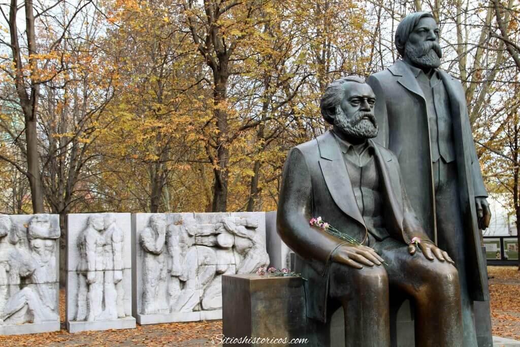 Rastro del pasado soviético de Berlín