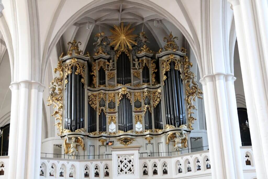 Órgano iglesia Santa María de Berlín