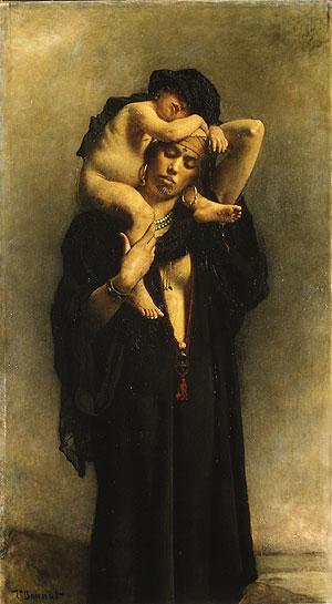 Campesina egipcia y su hijo (1869-1870) Museo Metropolitano de Arte