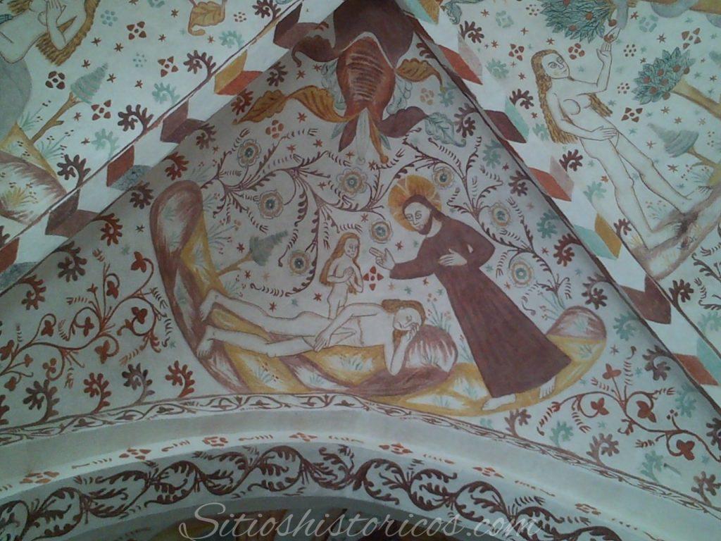 La creación de Eva desde las costillas de Adan
