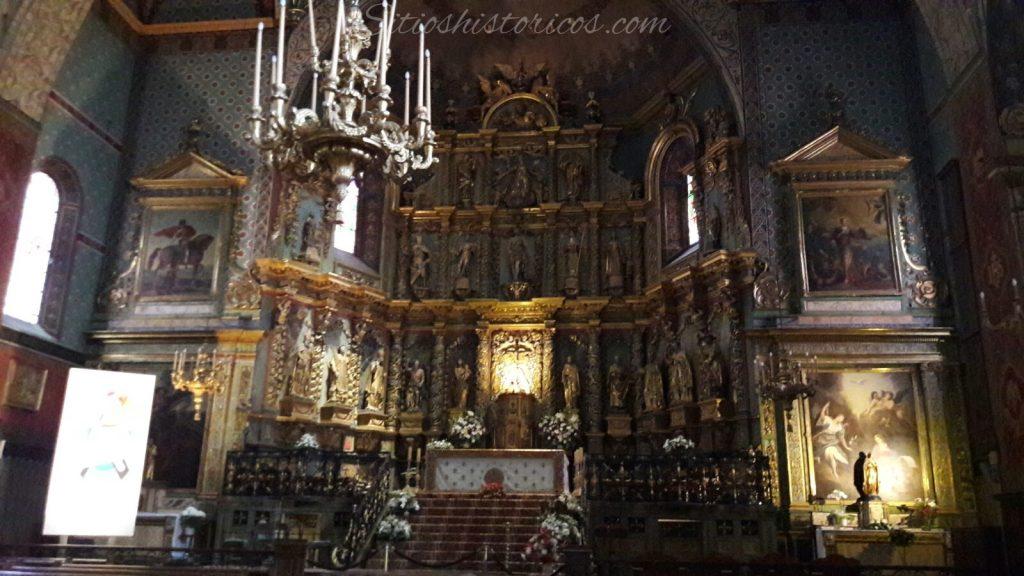 Retablo barroco San Juan de Luz
