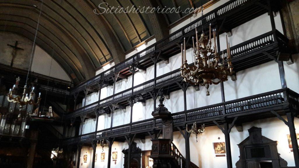 galerias de madera San Juan de Luz