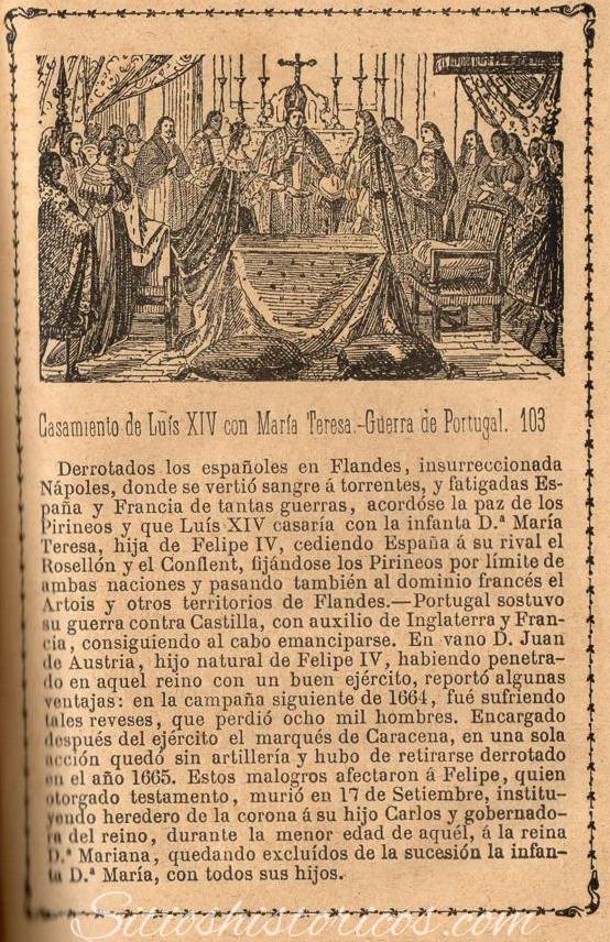 Libro antiguo boda real