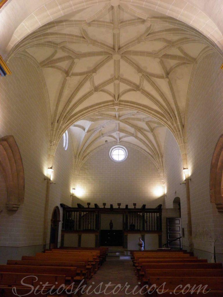 Bovedas estrelladas iglesia Santa Barbara