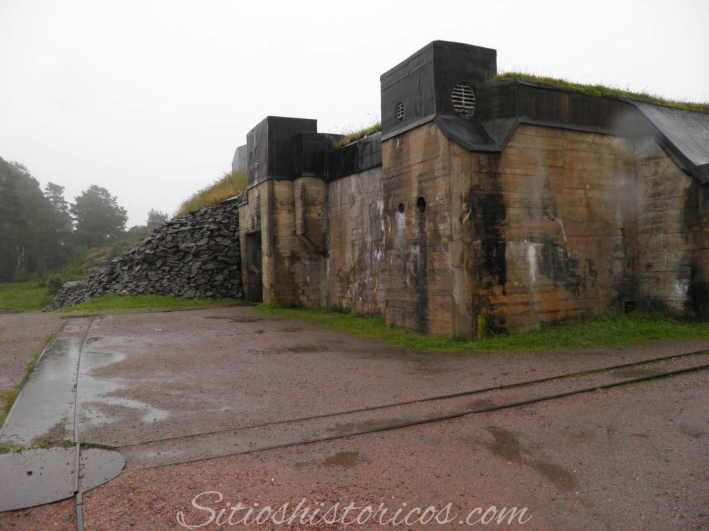 Fortaleza cañones gigantes nazis