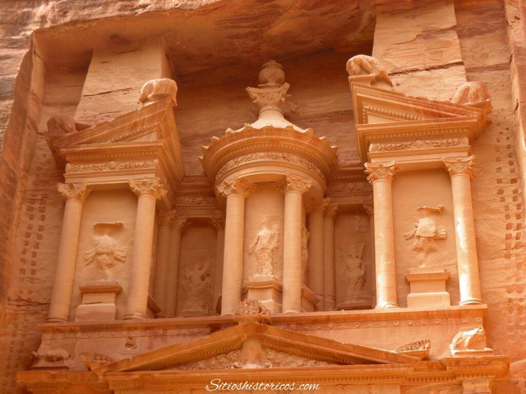Tesoro de Petra arquitectura