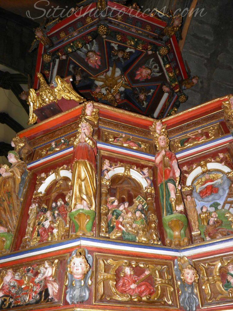 stavanger cathedral pulpit