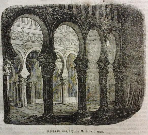 Dibujo sinagoga