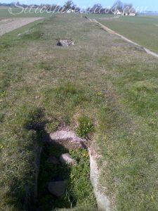 Cámara funeraria túmulo