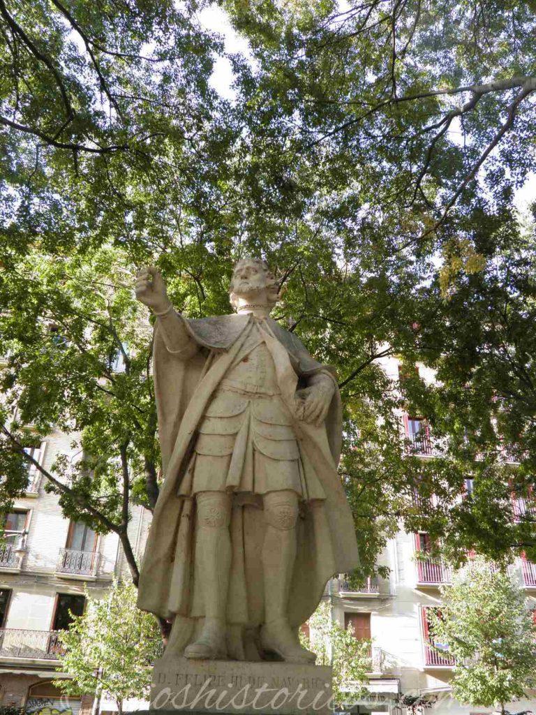 Lugares históricos Pamplona