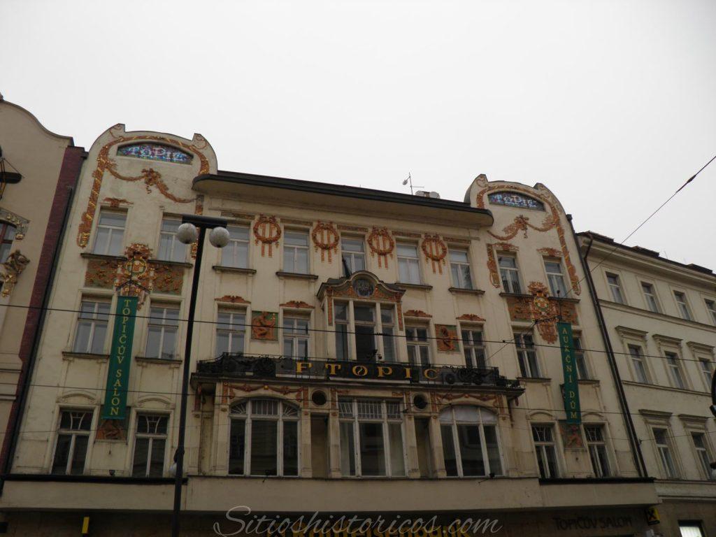 Lugares históricos Praga