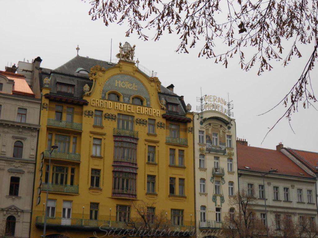 Art nouveau Praga