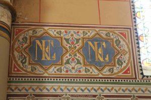 Monograma Napoleón III Emperatriz Eugenia