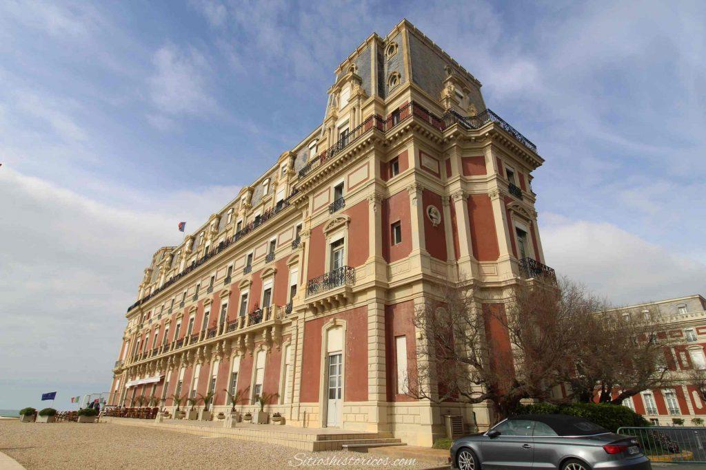 Sitios con historia Biarritz